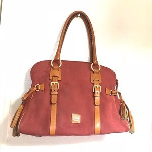 Authentic D&B  large suede shoulder bag